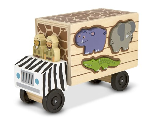 Melissa & Doug - 15180 - Camion De Sauvetage D'Animaux Safari