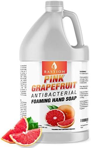 Pink Grapefruit Foaming Antibacterial Hand Soap Refill 1 Gallon 128 oz Refreshing Pink Grapefruit product image