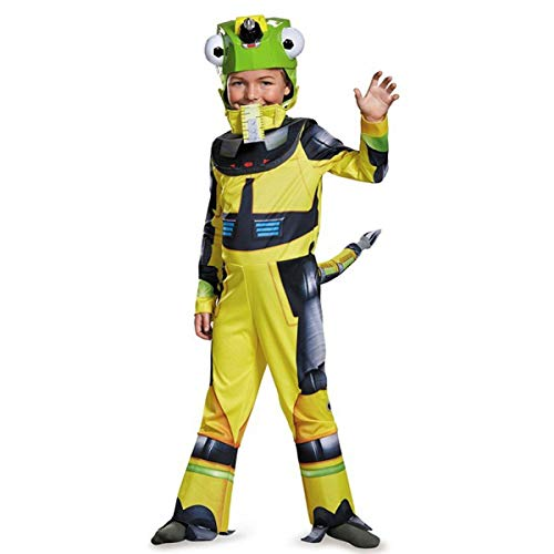 Disguise Revvit Deluxe Dinotrux Dreamworks Costume, Small/4-6 by Disguise