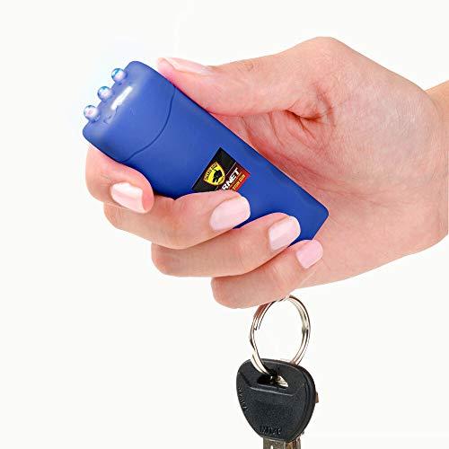 Guard Dog Security Hornet World's Smallest Stun Gun Keychain with Mini LED Flashlight – Mini Stun...
