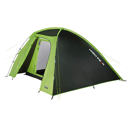 High Peak Rapido 3 dome tent, quick assembly camping tent for 3 people, festival tent with extra high entrance, trekking tent with small packing dimensions, double-walled, 3000 mm waterproof.
