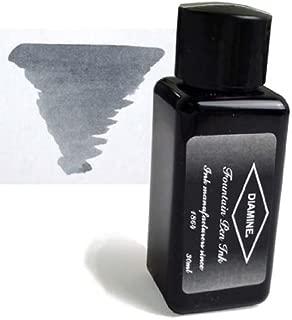 Diamine Fountain Pen Bottled Ink, 30ml - Grey