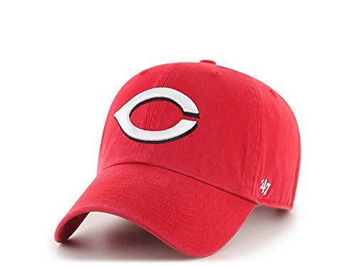 47Brand Cincinnati Reds Clean Up - Gorra, diseño de MLB