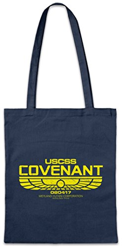 Urban Backwoods USCSS Covenant II Bolsas de la Compra Reutilizables