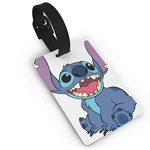 HASYH Lilo Stitch Luggage Tags Suitcase Labels Bag Travel Accessories