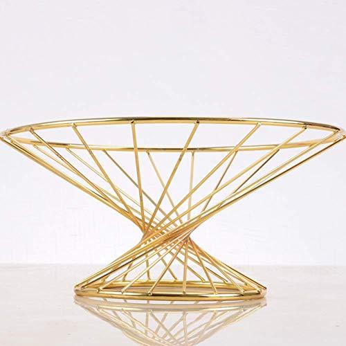 Fruit Basket Waistline Salon Table basse Fruit Bowl Creative Home Furnishings Assiette nordique des ménages Fruits secs Fruit Basket (Couleur: B) Zixin (Color : A)