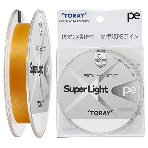 東レ(TORAY) ライン ソルトライン スーパーライト PE 0.4号(7lb) F72N