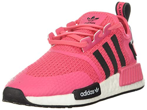 adidas Originals unisex child Sneaker, SUPPNK/CBLACK/FTWWHT, 11 Little Kid US