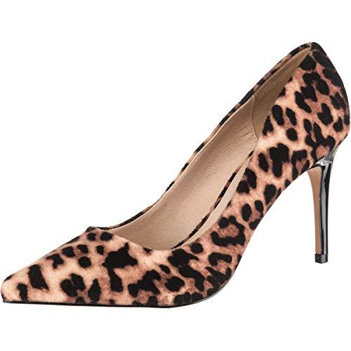 Buffalo Damen Fanny Pumps, Mehrfarbig (Leopard 001), 40 EU
