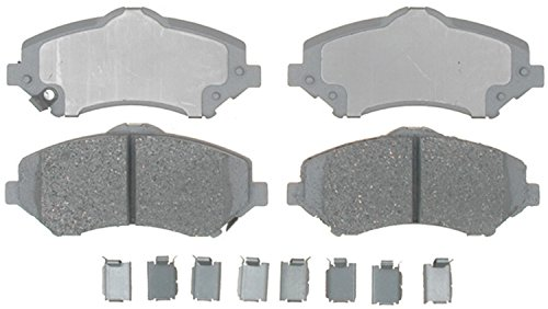 ACDelco 14D1273CH Advantage Ceramic Front Disc Brake Pad Set with Hardware