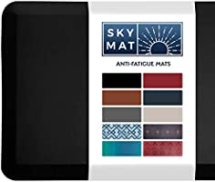 Sky Solutions Anti Fatigue Mat - Cushioned Comfort Floor Mats For Kitchen, Office & Garage - Padded Pad For Office - Non...