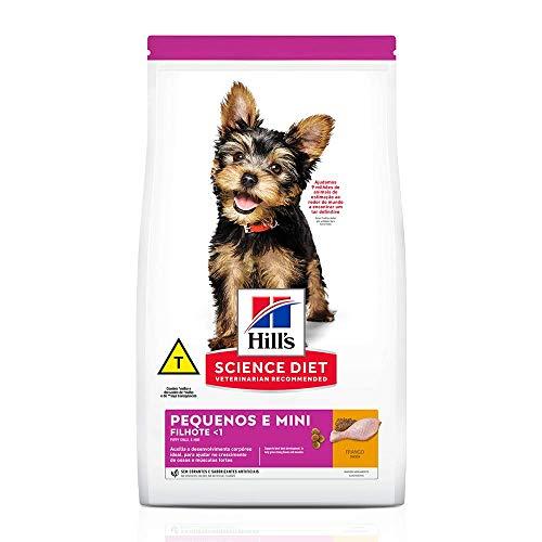 Ração Hill's Science Diet para Cães Filhotes Pequenos e Mini 6kg
