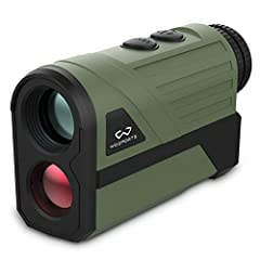 INNOVATIVE DESIGN: Innovative battery cover design, battery cover and range finder are inseparable. Don't worry about missing battery cover Hunting Rangefinder: 6x magnification, measure up to 700-1200 yards for Bow Hunting Influence Ranging capabili...