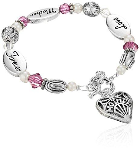 Expressively Yours Bracelet Love Mother Forever, 8'