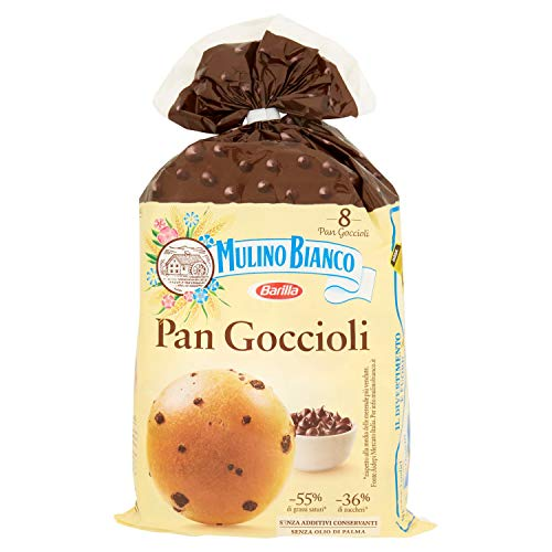 Mulino Bianco Merendine Pan Goccioli, Snack Dolce per la Merenda, Bonus Pack - 336 gr