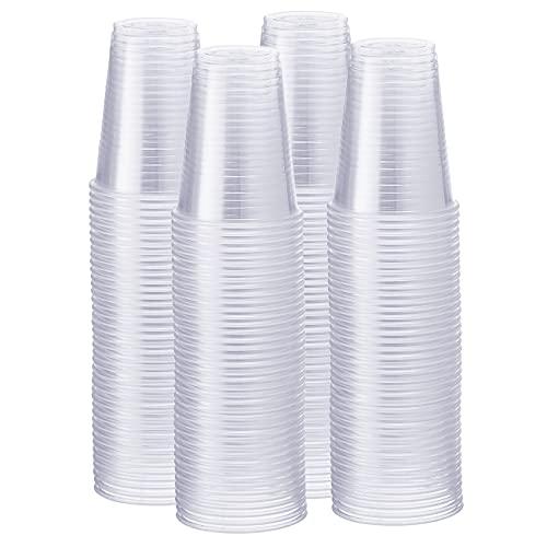 Comfy Package klar einweg-plastikbecher [500 Stück - 200 ml] Einweg-Kunststoffbecher - für kühle Party-Getränke - durchsichtig- Cold Partei Polypropylen trinkbecher [500 Pack -. 7 unzen]
