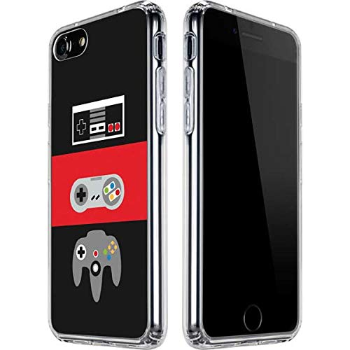 Skinit Clear Phone Case Compatible with iPhone SE Originally Designed Nintendo Controller Evolution Design