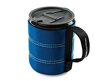 GSI Outdoors Insulated Infinity Backpacker Mug for Camping, Sturdy and Lightweight