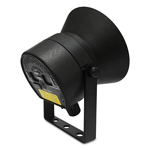 MultiSound - Llamador de pájaro 4 Canciones específicas para la codorniz. Llamada de Trompeta con Temporizador Incorporado. Potencia 30 + 30 vatios con bocina Externa Adicional. (30-TM)