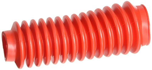 Rough Country Red Shock Boot w/Clamp (fits) Any Standard Shock Absorber | Each | 87150