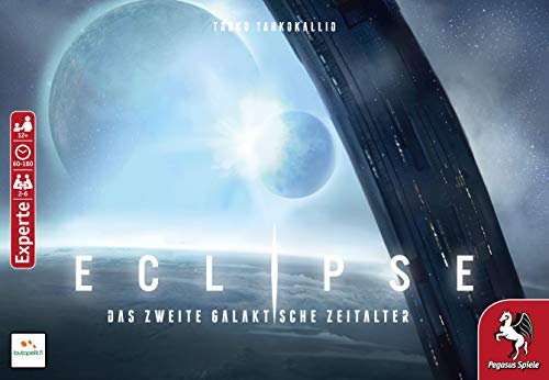 Pegasus Spiele 51842G - Eclipse – Das zweite galaktische Zeitalter (Lautapelit)