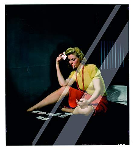 Vestin – Karos van plexiglas – Nickolas Muray vrouw in cel die solitair spelen – decoratie voor thuis A4 Solo Targhetta