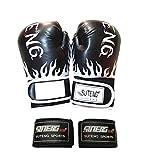 Zongha Vendas Boxeo Hombre Vendas Boxeo Guantes de Boxeo Envolturas para Guantes de Boxeo Formación de envolturas de Mano Boxeo Correas Set-6,Freesize