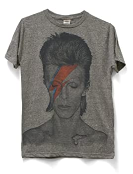 David Bowie Men s Aladdin Sane Subway T-Shirt XXX-Large Heather