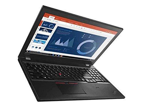 Lenovo Thinkpad T560 15.6-Inch Full HD Notebook - (Black) (Intel i5-6300U, 8 GB RAM, 256 GB SSD, Windows 10 Pro) (Renewed)