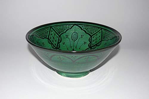 cuenco de cerámica Oriental marroquí de la ensalada de fruta muesli Ø 25 cm - 905255-0097