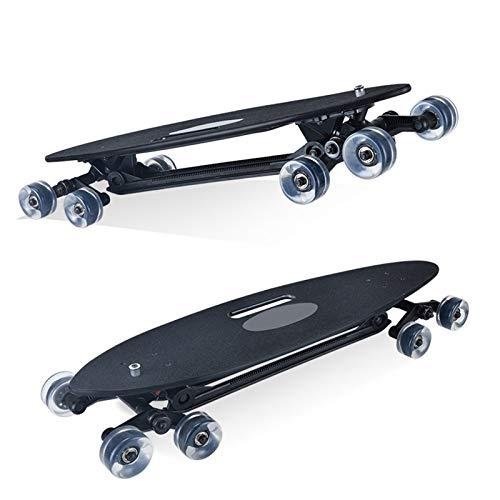 Youpin 8 ruedas Stair-Rover Longboard completo de la calle Freeride tabla larga de descenso para surf urbano
