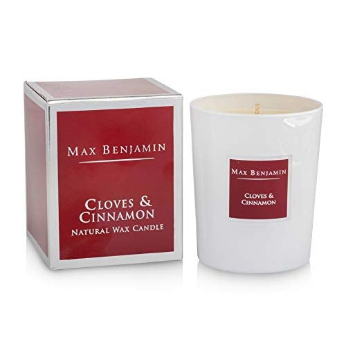 Max Benjamin Cloves & Cinnamon Luxury Natural Candle - C1