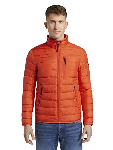 TOM TAILOR Denim Jacken Lightweight Jacke deep Fiery orange, XL