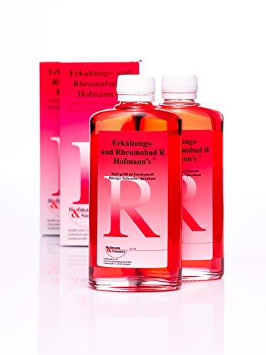 Erkältungs- und Rheumabad R Hofmann`s® Arzneibad Erkältungsbad mit reinem Eukalyptus-Öl, wirkt schleimlösend und antiseptisch 500ml (2 x 250ml)