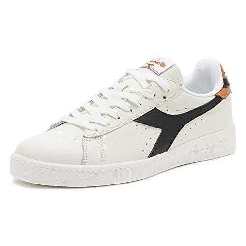Diadora, Uomo, Game L Low, Pelle, Sneakers, Bianco, 42 EU