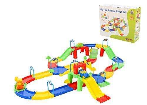 Wader Quality Toys Rennbahn Nr.3 (im Karton)