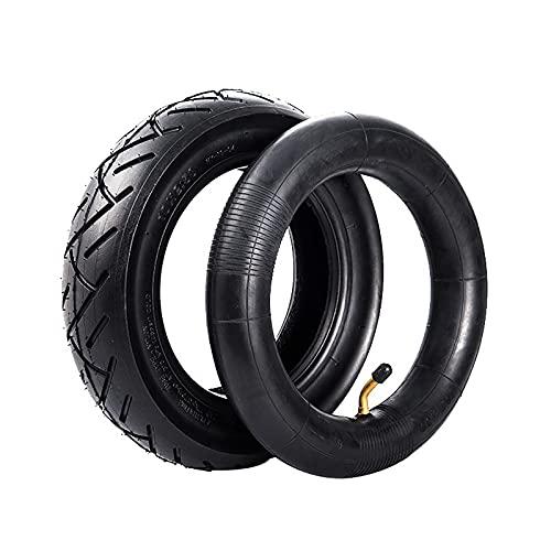 Neumáticos para Scooter Eléctrico 10x2.50 Neumáticos Interiores Y Exteriores, Bordes De Alambre De Acero, Absorción De Impactos, Antideslizante, Seguro Y Confiable, Adecuado para Scooters