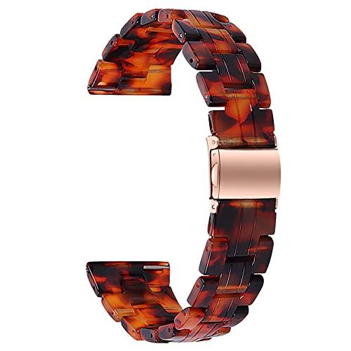 Correa De Reloj Compatible con Galaxy Watch 3, Pulseras De Resina, Bandas De Repuesto Pulsera Impresa Joyería Mujer Hombre Compatible con Galaxy Watch 3 Reloj Inteligente,C,45mm