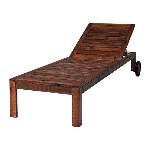 IKEA APPLARO - Sun lounger, brown