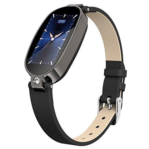 YWLINK B79 Pulsera Inteligente para Mujeres Rastreador De Ejercicios PPG ECG Monitoreo del SueñO Recordatorio De Llamadas Pantalla En Color Deportes Salud Reloj Inteligente con Bluetooth Impermeable