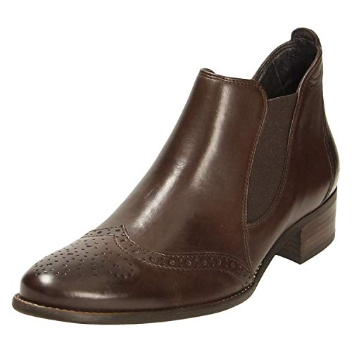 Paul Green Damen Stiefeletten 0063-7358-173/Stiefelette 7358-173 Chocolate Foulard braun 538617
