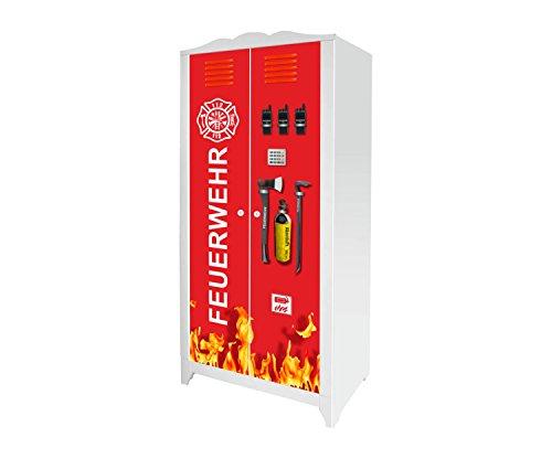 Stikkipix Feuerwehr Möbelsticker/Aufkleber für den Kinderschrank HENSVIK von IKEA - IM201 - Möbel Nicht Inklusive