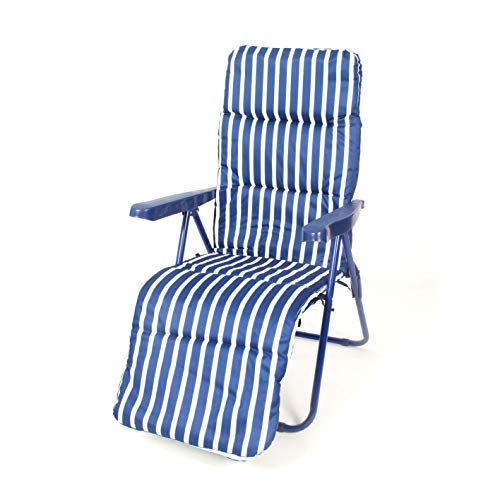 CREVICOSTA QUALITY MARK MARCAS DE CALIDAD Silla Relax Elegante Azul. 12005