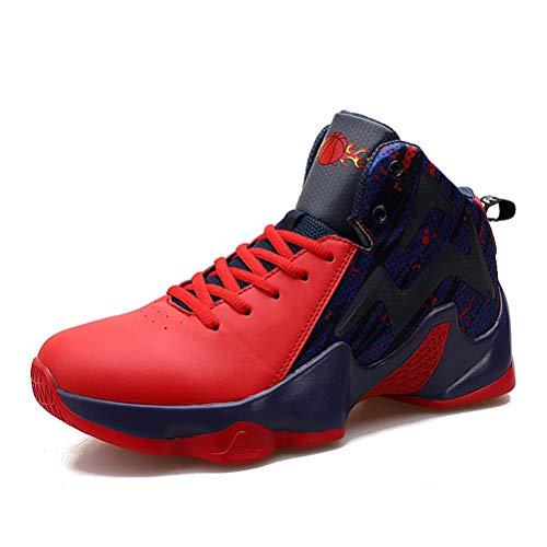 LFEU Basketball Schuhe Herren High Top Wasserdicht Verschleißschutz Knöchel Männliche Fitness Turnschuhe