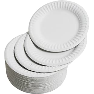 Paper Plates 15cm - Pack of 100:Btc4you