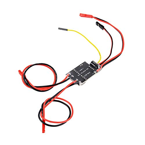 FPVKing Dual Way Bidirectional Brushed ESC 2S-3S Lipo 5A ESC Speed Control for RC Model Boat Tank 130 180 Brushed Motor Spare Parts