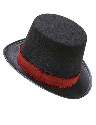DEGUISE TOI - Chapeau Haut de Forme de Jacob- Assassins Creed Adolescent - Taille Unique