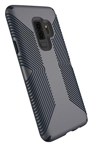 Speck Presidio Grip Samsung Galaxy S9 Plus Case, Graphite Grey/Charcoal Grey