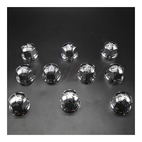 Auart Leizh-Scap 10pcs 32mm Schutzkappen Radmuttern Abdeckungen, LKW-Reifen Radnabenabdeckungen, Nuss Kappen Hub Schraube, Hohe Qualität und Langlebigkeit