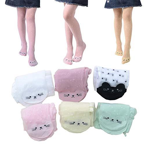 Kids Girls Soft Dance Lace Thin Sheer Pantyhose Tights Pants, Sheer Tights